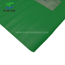 Green Traffic Road/Street Safety Warning Anti-UV/Waterproof PVC/Polyester/Nylon Printing Reflective/Fluorescent Color Square/Triangle Bunting