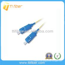 SC / PC-SC / UPC SM Faseroptik Patchkabel