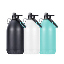 New Product 1 Gallon Sports Water Bottle Stainless Steel Vacuum Gym Jug Insulated Water Bottle
