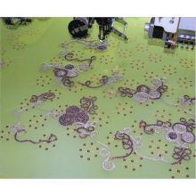 15head 6 colores que arrollan y máquina del bordado del cequi