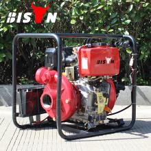 BISON China Taizhou BSDWP40 4 Zoll Starker Dieselmotor Preis der Diesel Wasserpumpe Set