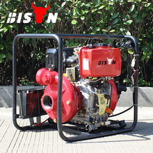 BISON China Taizhou BSDWP40 4 Inch Strong Diesel Motor Price of Diesel Water Pump Set