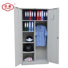 Steel swing door office steel wardrobe closet