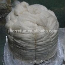 Sharrefun high quality 100% Mongolian Cashmere Tops Light Grey 16.5mic/46mm