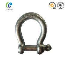 Adjustable galvanized u anchor shackle