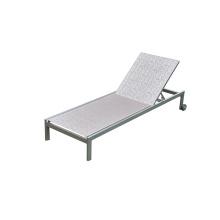 Chaise de salle à manger en bois en plastique en plein air