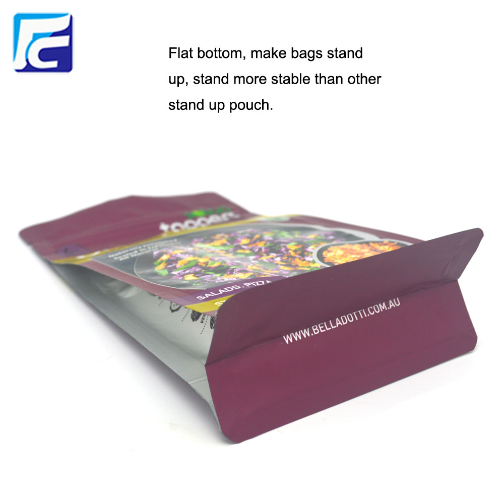 Food Zipper Packing Bag