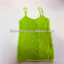 summer knitting seamless camisole top