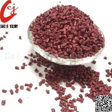 PVC Red Wire Masterbatch Butiran