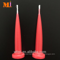 Selected Product Abundant Colours Available Pure White Birthday Bullet Candles Bulk