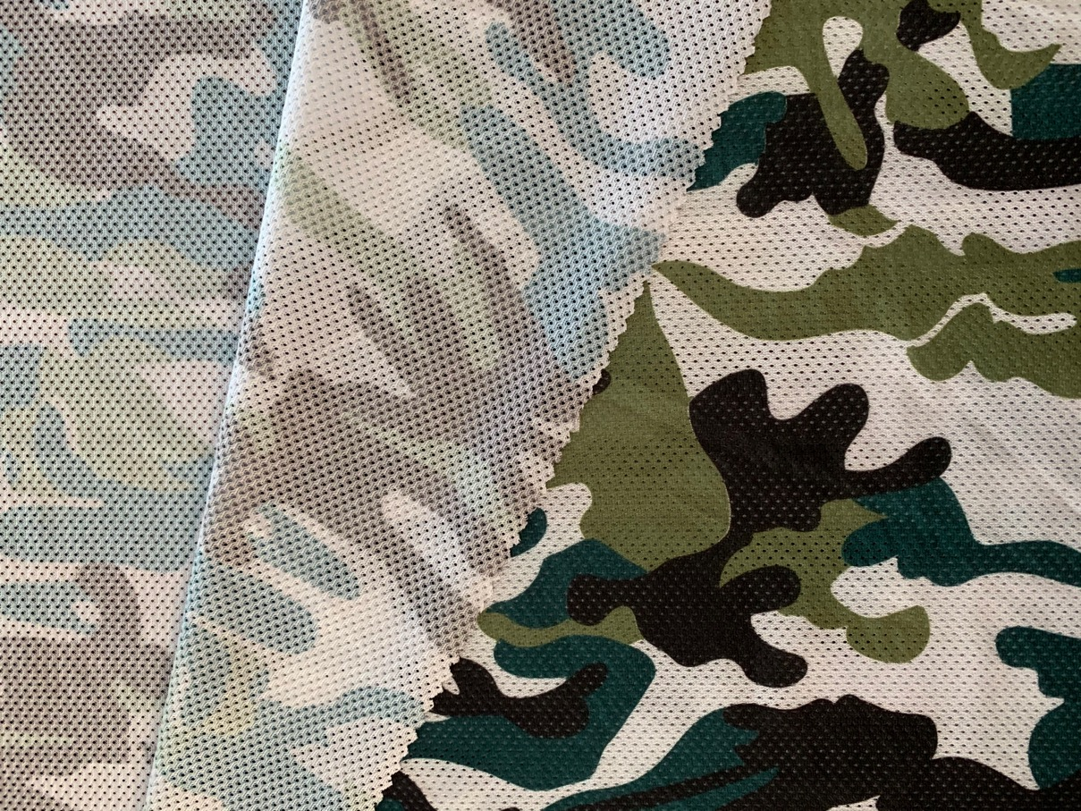 Mesh Camouflage Fabric