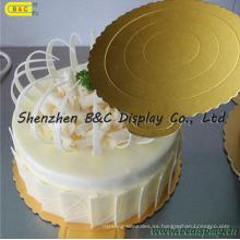 Tamaño personalizado y almohadillas de pastel de forma, Cake Boards, bandeja de pastel de alta Qualitu con SGS (B & C-K062)