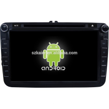 Quad-Core android kapazitiver Touchscreen Android 4.4.4 Auto-DVD-Player mit Wi-Fi