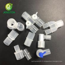 Différents connecteurs pour circuit respiratoire