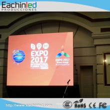 Stgae Vorhang P6 LED-Anzeige im Freien full hd Vermietung führte Wand / super dünne LED-Bildschirm