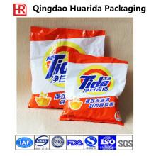 Detergente plástico / saco de embalagem de pó de lavagem