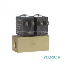 Válvula de aire hembra de latón y aluminio AC220V