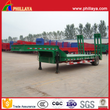 Phillaya Made 1-2 Axles 20-40 Tons Lowbed Truck Semitrailer
