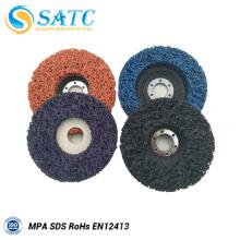 discos abrasivos da superfície do disco da aleta flexível para lustrar