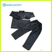 Langlebige Polyester Wasserdichte Motorrad Regenbekleidung
