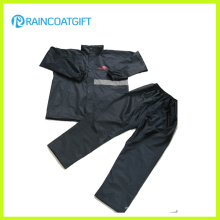 Reflektierender 100% Polyester Nylon Regenanzug