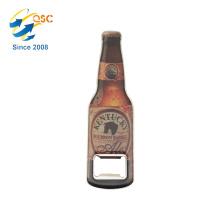 Hot sale high quality sublimation custom bottle shaped bulk wine bottle opener