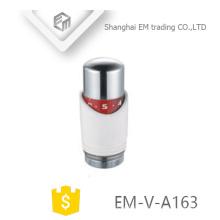 EM-V-A163 Valve thermostatique de radiateur de contrôle de température de sonde de liquide Tête en plastique