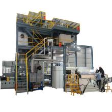 Máquina para fabricar telas no tejidas de nueva tecnología