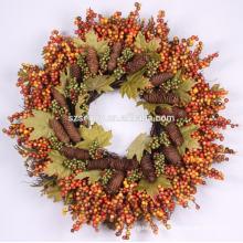 Werbe-Pip Harvest Künstlicher Beeren Kranz