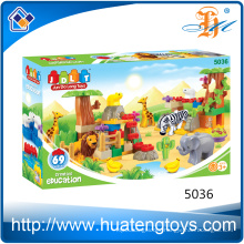 Wholesale Price Outdoor Creative Animal Home building Blocks Toy