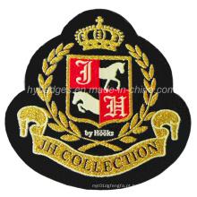 Emblema remendado do emblema do emblema do remendo Emblema do logotipo do bordado (GZHY-PATCH-007)