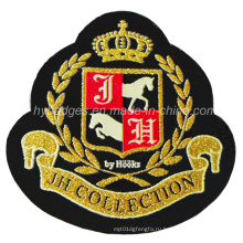 Значок логотипа вышивки на тканевой вышивке (GZHY-PATCH-007)