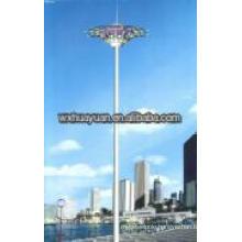 high steel mast for illumination