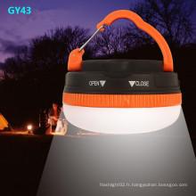 Gy43 LED de lumière de camping avec magnétique solide pour la réparation automobile