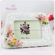 "Cadeau de promotion blanc Funia Love Photo Frame Photo Frame (4 ""X6"")"