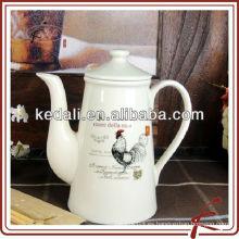 Venta al por mayor de porcelana de cerámica porcelana Café Tetera