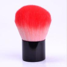 Brosse Kabuki en poudre synthétique à deux couleurs (TOOL-103)