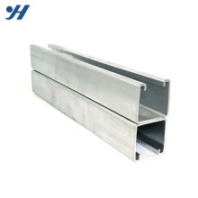 Cold Formed Stainless Steel Profile Q235 Welded HDG Double C Channel