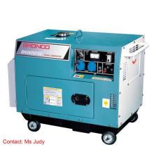 Générateurs diesel refroidis par air silencieux de Bn5800dse 5kw