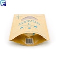 Impreso Brown Kraft Paper Stand Up Pouches Wholesale