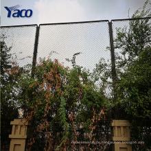 1.2m, 1.5m 1.8m 2m PVC galvanisierte überzogenen Maschendrahtzaun benutzte Kettenglied-Zauntore für Verkauf