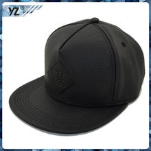 Small quantity accept Paypal leather patch logo snapback hats wholesales with great price
