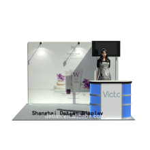 Trade show display wall tension fabric backdrop exhibition kiosk booth Trade show display wall tension fabric backdrop exhibition kiosk booth
