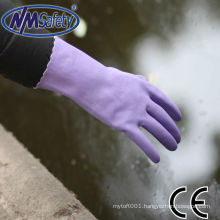 NMSAFETY long cuff pvc examination gloves