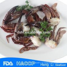 Dongshan congelado corte negro cangrejo