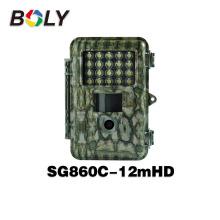 Nouveaux produits blanc flash SG860C-12mHD et couleur 720 P HD vidéo vision nocturne chasseur caméra