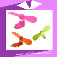 Colorful USB Mini Fan for Mobile Phone