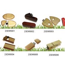 USB Flash Drive W / cubierta de madera (23D95001)