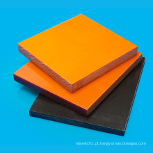 Placa de baquelite laminado fenólico de isolamento dielétrico 40 mm