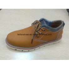 Estoque de calçados de couro de alta qualidade mais recente (ff616-1)